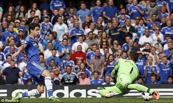 Oscar xứng đáng là trụ cột mới ở Stamford Bridge