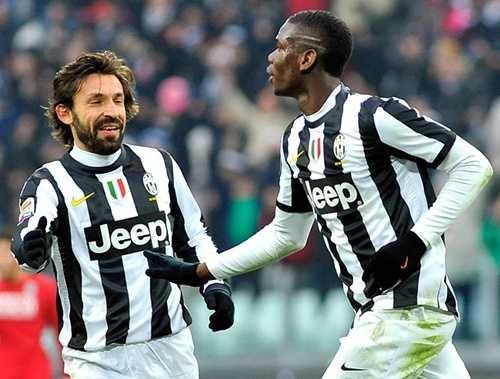HLV Conte cho rằng Pogba sẽ thay thế được vị trí của Pirlo trong tương lai