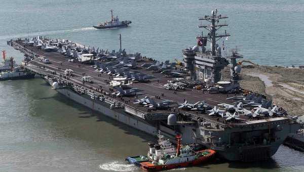 Siêu tàu sân bay hạt nhân USS Nimitz của Hải quân Mỹ