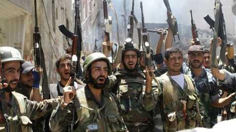 Quân chính phủ Syria đang thắng thế trên chiến trường