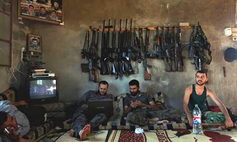 Binh lính phe nổi dậy Syria