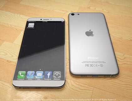 iPhone 5S được cho là có bề ngoài giống hệt iPhone 5, nhưng vẫn có nhiều bản thiết kế giả định iPhone 5S với hình dạng có đôi chút khác so với iPhone 5.