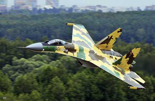 Chiến cơ Su-35S của Nga