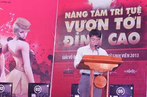 Ông Trần Hoàng Minh - Đại diện nhà tài trợ