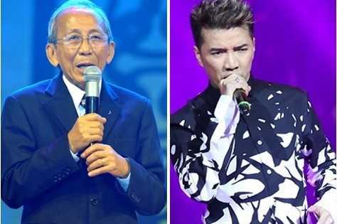 Những nhân xét của nhạc sỹ Nguyễn Ánh 9 và tâm thư đốp chát lại của Đàm Vĩnh Hưng đã gây sóng gió làng nhạc.