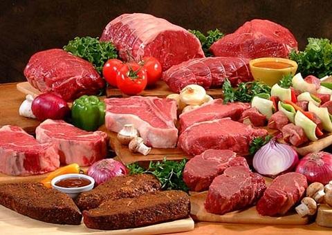 Thịt đỏ không tốt cho người bị bệnh gút.