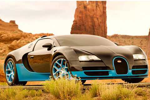 Bugatti Veyron Grand Sport Vitesse sẽ góp mặt trong Transformers 4. Ảnh GT Spirit