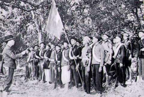 Đội Việt Nam tuyên truyền giải phóng quân.