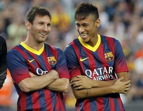 Neymar sẽ được trao cơ hội đá cặp cùng Messi