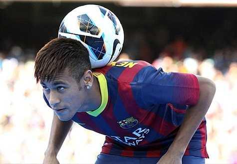 Neymar được kì vọng rất nhiều ở Barcelona