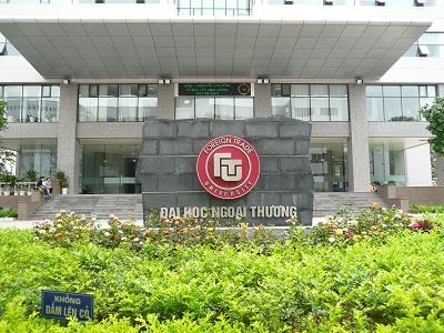 Đại học Ngoại thương Hà Nội là một trong những trường đại học nằm trong danh sách phải di dời