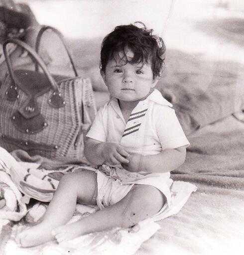 Victoria Ruffo thời thơ ấu