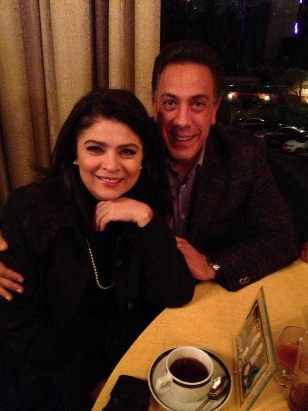Victoria và người chồng thứ hai - chính trị gia Omar Fayad.