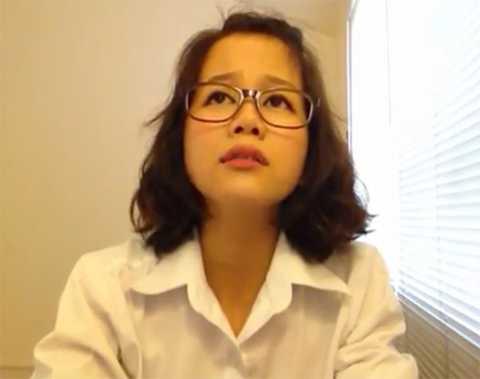 Nữ sinh này được nhiều bạn trẻ yêu thích nhờ khuôn mặt vô cùng biểu cảm