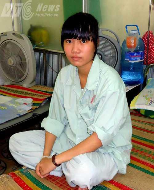 Ô Xin mong muốn được trở thành một bác sĩ tài giỏi để tự chăm sóc sức khỏe cho bản thân và chữa bệnh cho mọi người (Ảnh Đan Ngọc)