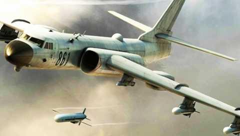 Máy bay ném bom chiến lược H-6K của Trung Quốc