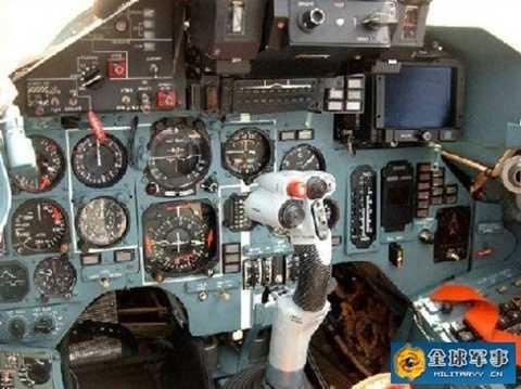 Bên trong buồng lái của máy bay ném bom H-6K