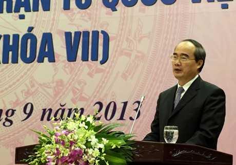 Dự kiến tại kỳ họp thứ 6 QH sẽ tổ chức miễn nhiệm chức danh PTT với ông Nguyễn Thiện Nhân