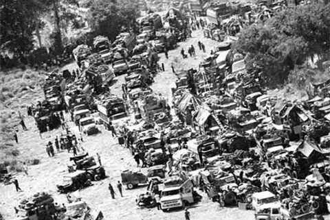 Quảng Trị - Mùa hè đỏ lửa 1972, Quân VNCH trên đường rút lui.