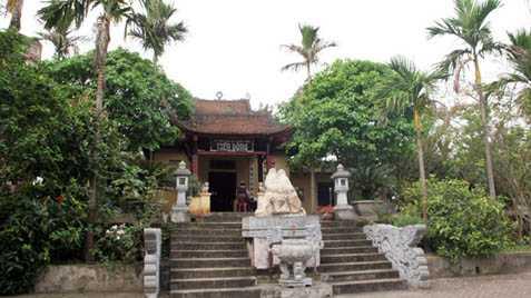 Di tích Quốc gia Tiên Động, nơi thờ Thủ lĩnh Nguyễn Quang Bích và nghĩa binh