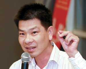 Ông Lê Hữu Nghĩa, Tổng giám đốc Công ty Địa ốc Lê Thành