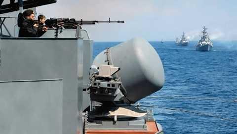 Hải quân Nga, Trung Quốc có nhiều cuộc tập trận chung - Ảnh: RIA Novosti