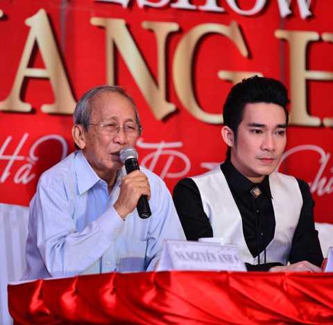 Nhạc sỹ Nguyễn Ánh 9 cho biết, ông nhận lời tham gia liveshow Quang Hà đã lâu vì tình thương đặc biệt dành cho nam ca sỹ