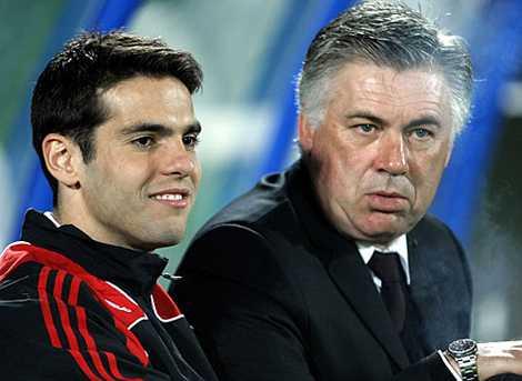 Phong độ đi xuống, Kaka không thể là đồng minh tin cậy của Ancelotti ở Real.