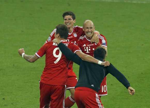Robben đã hết đen