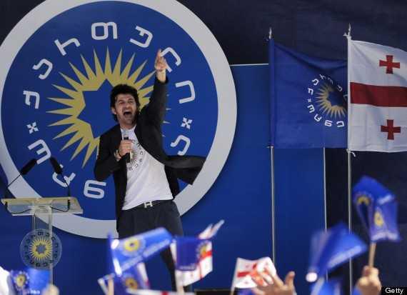 Kaladze vận động tranh cử
