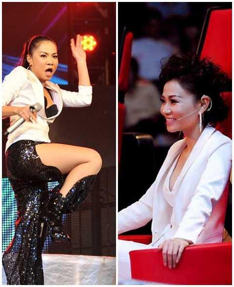 Nhờ The Voice, Thu Minh đã gột được hình ảnh nông nổi, luôn khiến dư luận bức xúc trong suốt nhiều năm trước đó của cô.