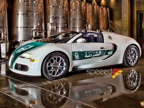 Bugatti Veyron, siêu xe cảnh sát mạnh và đắt nhất thế giới. Ảnh Speed