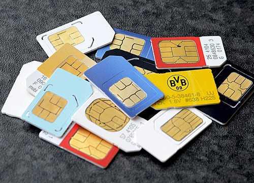 Thẻ SIM cũng có thể bị hacker lợi dụng.