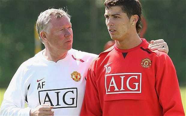 Sir Alex Ferguson và cậu học trò cưng Ronaldo