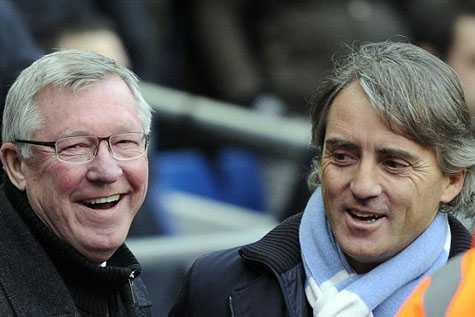 Alex Ferguson đã thua trước Mancini
