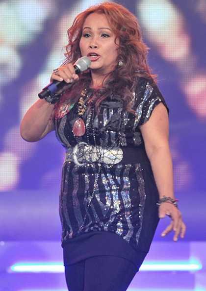 Chương trình còn có sự góp giọng của 'sư tử' Kim Loan cùng 2 cô em gái