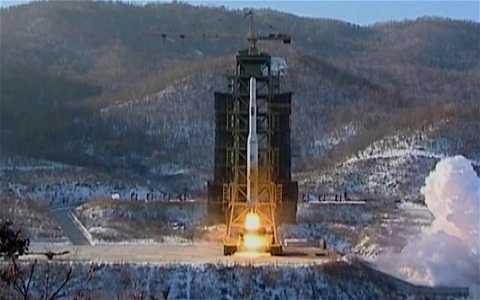 Tên lửa tầm xa của Triều Tiên