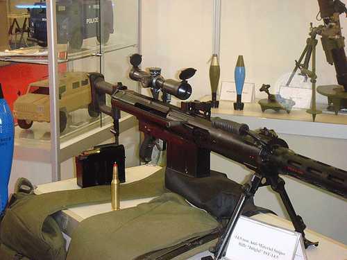 Súng ngắm công phá Istiglal sử dụng đạn 14.5mm của Azerbaijan