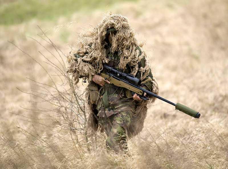 Súng ngắm L115A3 sử dụng đạn Lapua Magnum 8.6mm mà Hạ sĩ Craig dùng hạ 2 phiến quân Taliban ở Afghanistan
