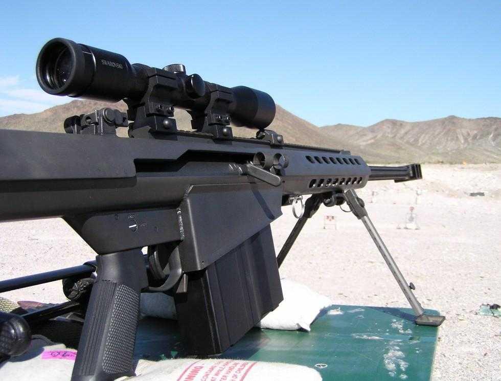 Súng ngắm M82 dùng đạn 12.7mm của Barrett
