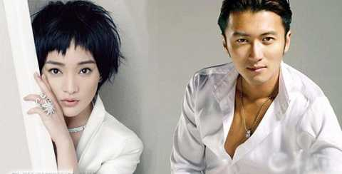 Châu Tấn không mất cơ hội sánh duyên trên màn bạc cùng 'bạn trai tin đồn' Tạ Đình Phong trong phim mới.
