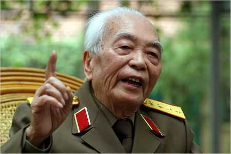 Đại tướng Võ Nguyên Giáp (Ảnh: Internet)