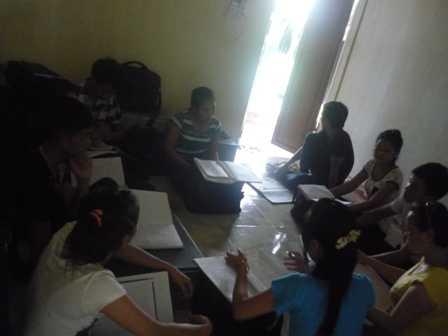 Một kiểu học nhóm của học viên Lô Hội