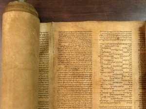 Cuốn sách cổ Torah. (Nguồn: Trường đại học Bologna)