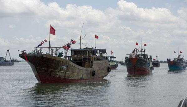 Tàu cá Trung Quốc - Ảnh minh họa