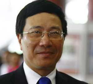 Bộ trưởng Ngoại giao Phạm Bình Minh.