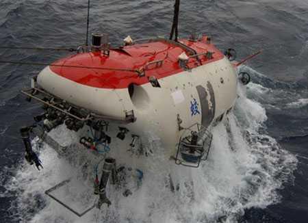Tàu lặn Giao Long - Ảnh: Xinhua