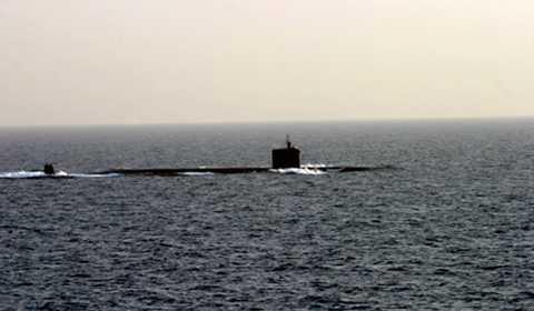 Chiếc tàu ngầm tự chế mang tên 'Trường Sa 1' - Ảnh minh họa