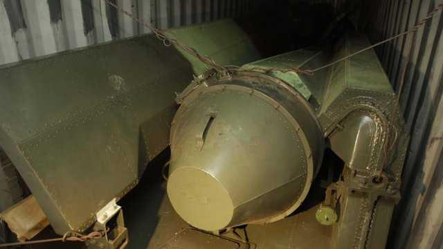 Cận cảnh tên lửa trên tàu Chong Chon Gang của Triều Tiện bị Panama bắt giữ