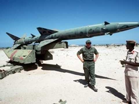 Tên lửa đất đối không SA-2 có từ thời Liên Xô cũ. (Ảnh: wikimedia.org)